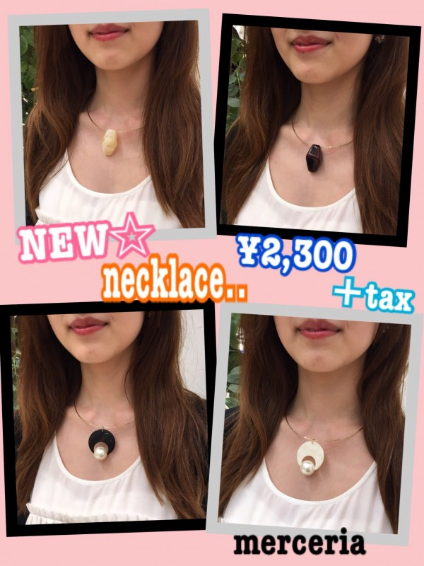 New!!ネックレス♩