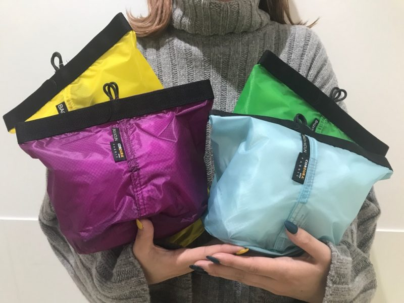 【 CAMP POUCH 'S' 'M' 】