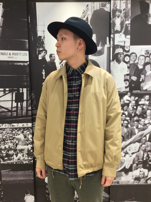 FREDPERRY 新作ご紹介☆