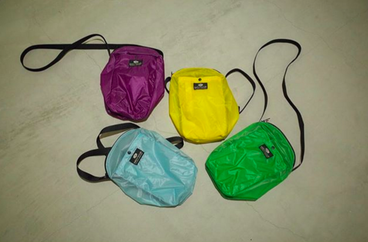 [ 直営店限定 CAMP POCHETTE 'L/HALF' YELLOW ]